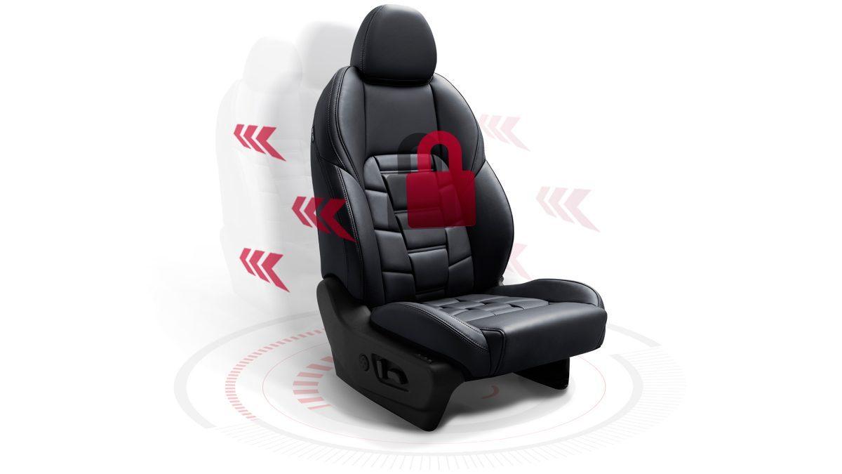 Функция памяти на две персоны в сиденьях Nissan QASHQAI