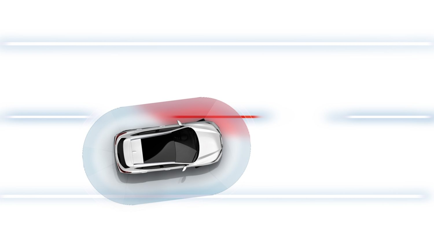 Qashqai Lane Departure Warning illustration