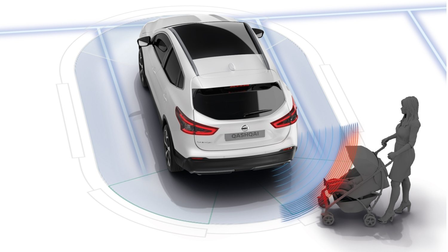 Qashqai Moving Object Detection illustration