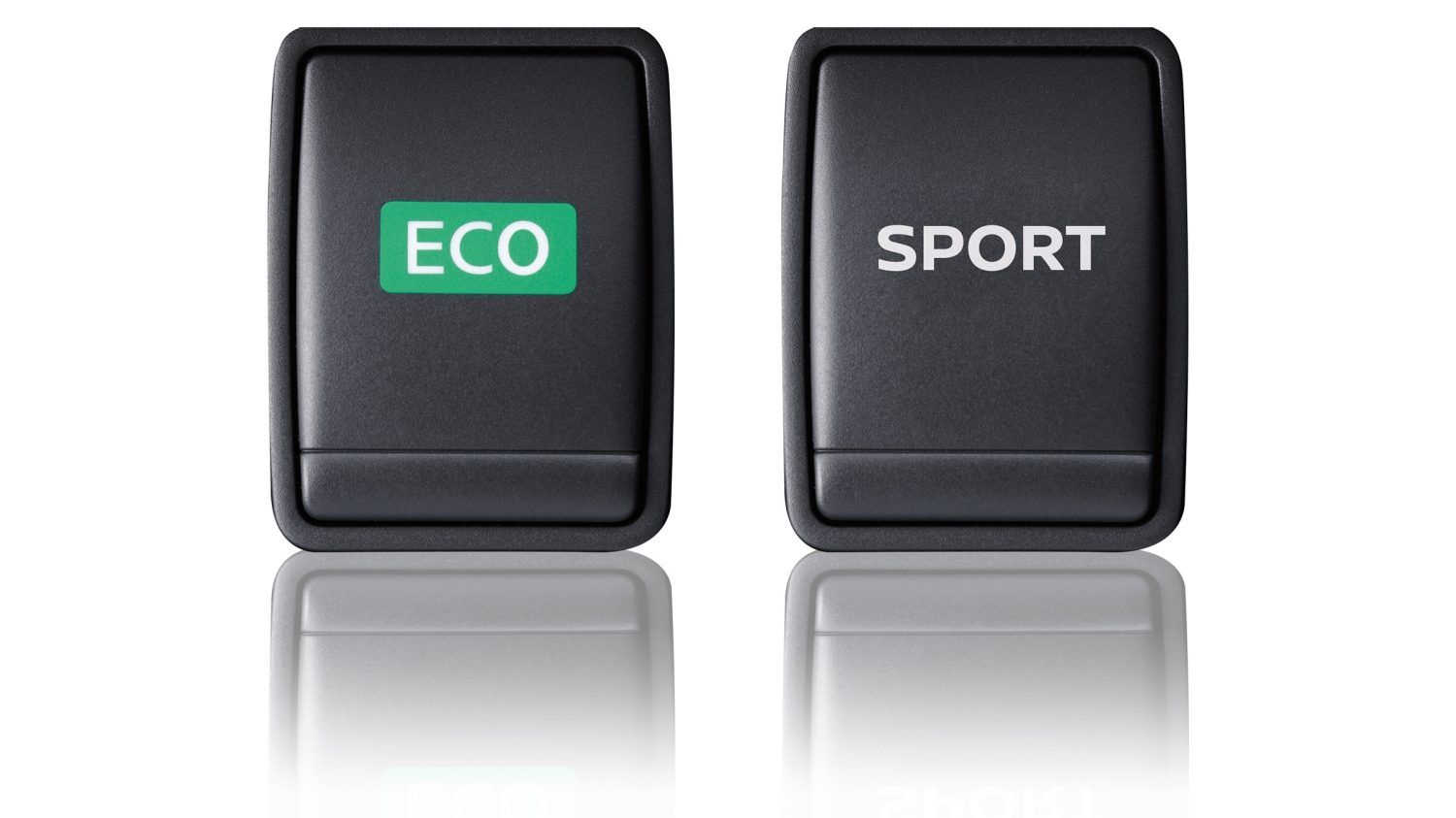 Qashqai Eco mode and Sport mode buttons