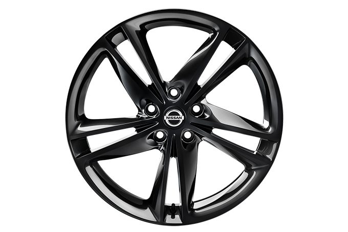 "Nissan Qashqaï - Alloy wheels - 19"" ibiscus alloy wheel - black"