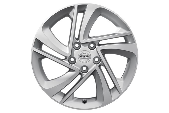 "Nissan Qashqai - Alloy wheels - 17"" Snow Flake alloy wheel - silver"