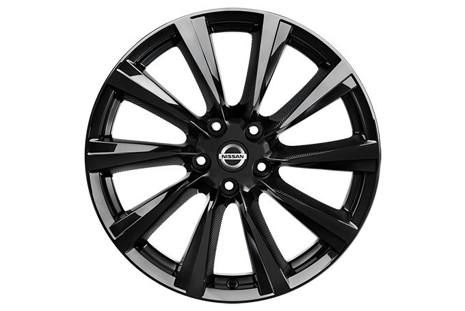 "Nissan Qashqaï - Popular - 19"" wind alloy wheel"