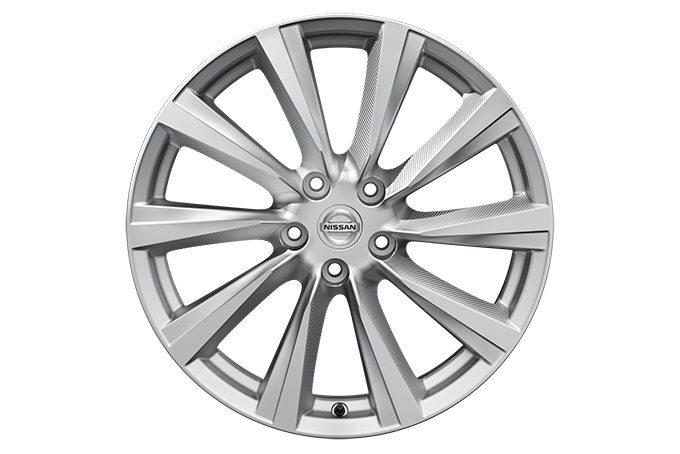 "Nissan Qashqai - Alloy wheels - 19"" Wind alloy wheel - silver"