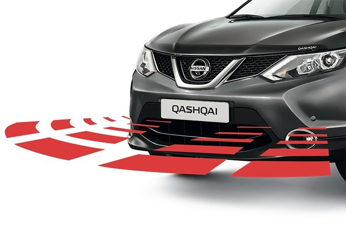 Nissan Qashqai - Safety - Front and rear parking system