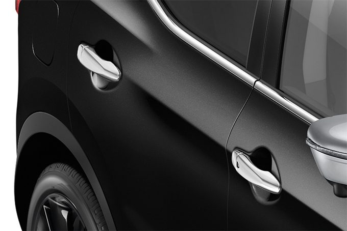 Nissan Qashqaï - Styling - Door handle covers ice chrome