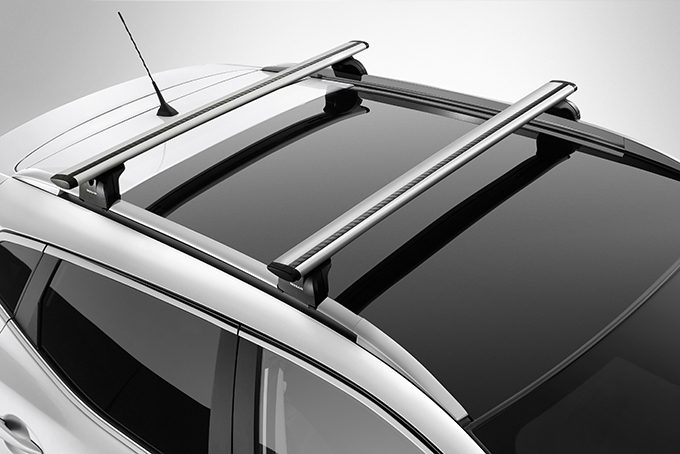 Nissan Qashqai - Transportation - Cross bars for roof railing