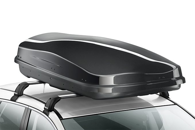 Nissan Qashqai - Transportation - Roof box large - black