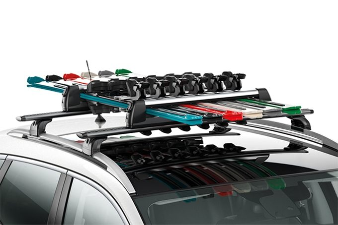 Nissan Qashqai - Transportation - Ski carriers