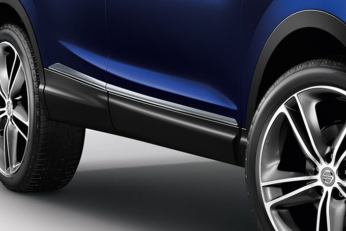 Nissan Qashqai - Styling - Side door sills ice chrome