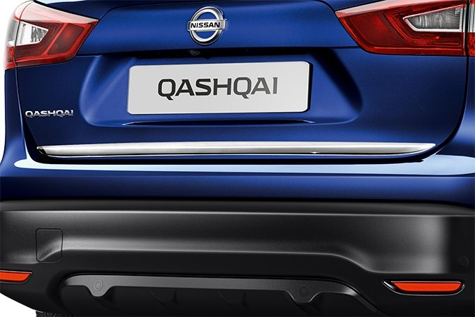 Nissan Qashqaï - Premium pack ice chrome - FINITURA INFERIORE PORTELLONE