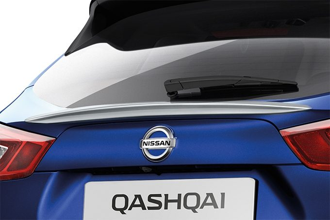 Nissan Qashqaï - Styling - Rear glass finisher chrome
