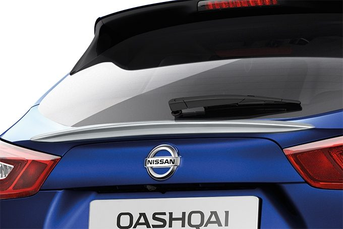 Nissan Qashqaï - Elegance pack chrome - Side door sills