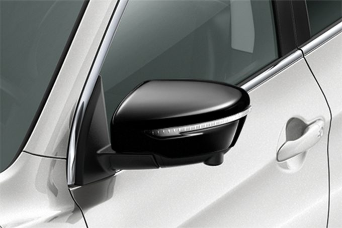 Nissan Qashqaï - Styling - Mirror caps black