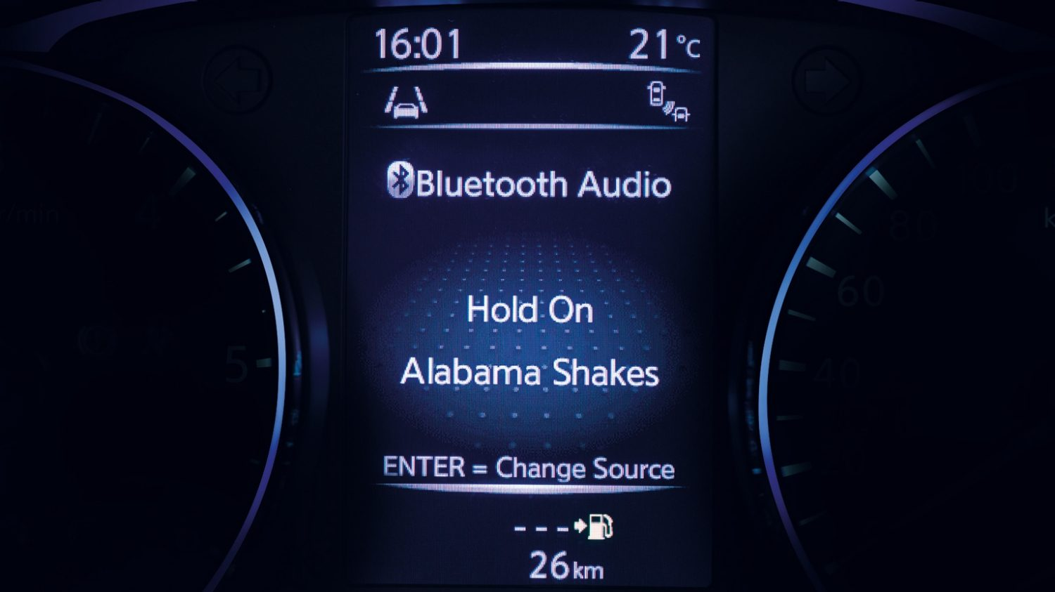 Nissan QASHQAI - Bluetooth audio streaming