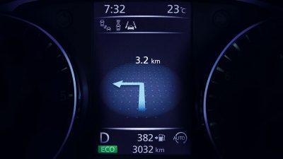 Nissan Qashqai - Viziune privind anticiparea situațiilor de urgență