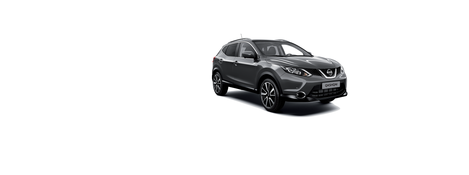 Nissan Qashqai - Dark Metallic Grey