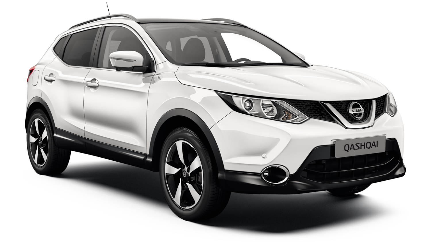 Nissan Qashqai Black Edition - 3/4 front view