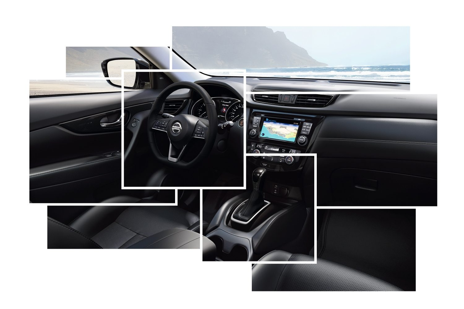 Nissan X-TRAIL - interieur design