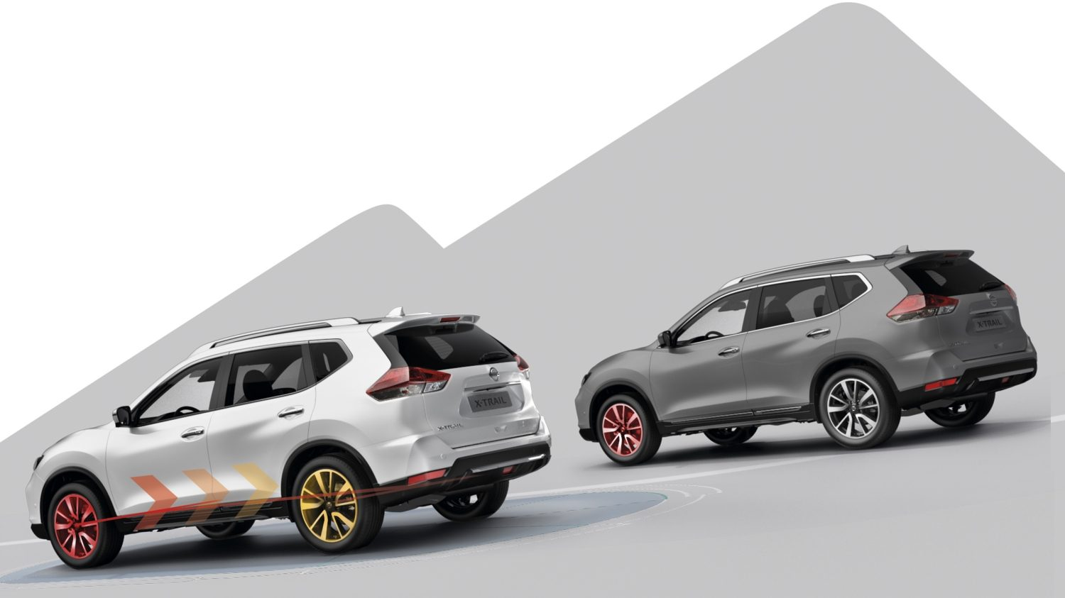 NISSAN X-TRAIL - Abbildung: Stillstands-Assistent