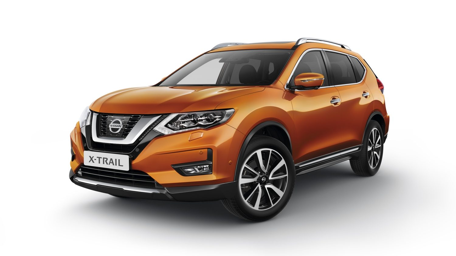 Nissan X-TRAIL, packshot, full front