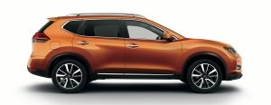 Nissan - X-trail - Sideview