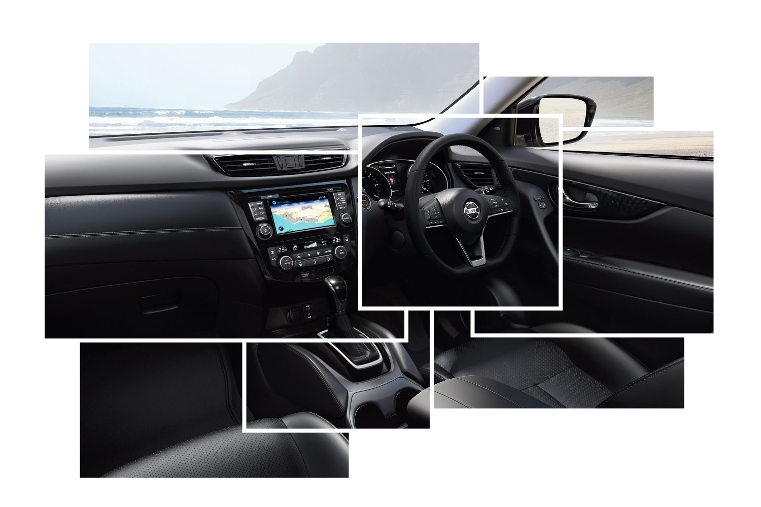 X-Trail Interior Design collage general