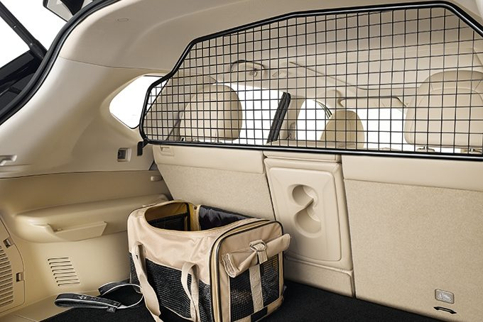 Nissan X-Trail - Interior - Trunk entry guard
