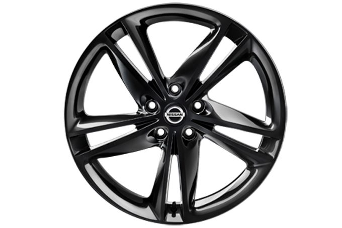 "Nissan X-Trail - Alloy wheels - 19"" Ibiscus alloy wheel black"