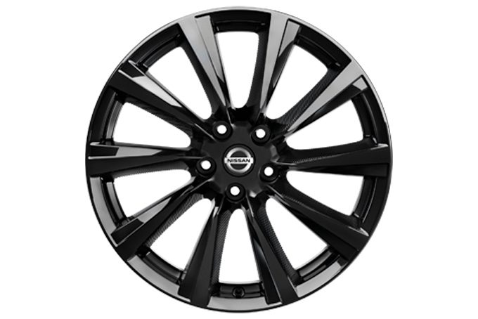 "Nissan X-Trail - Alloy wheels - CERCHI IN LEGA WIND DA 19"" CON BORCHIE CENTRALI"
