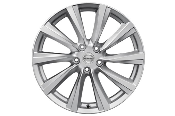 "Nissan X-Trail - Alloy wheels - 19"" Wind alloy wheel silver"