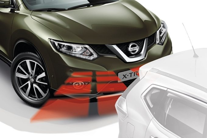 Nissan X-Trail - Safety - Front and rear parking system