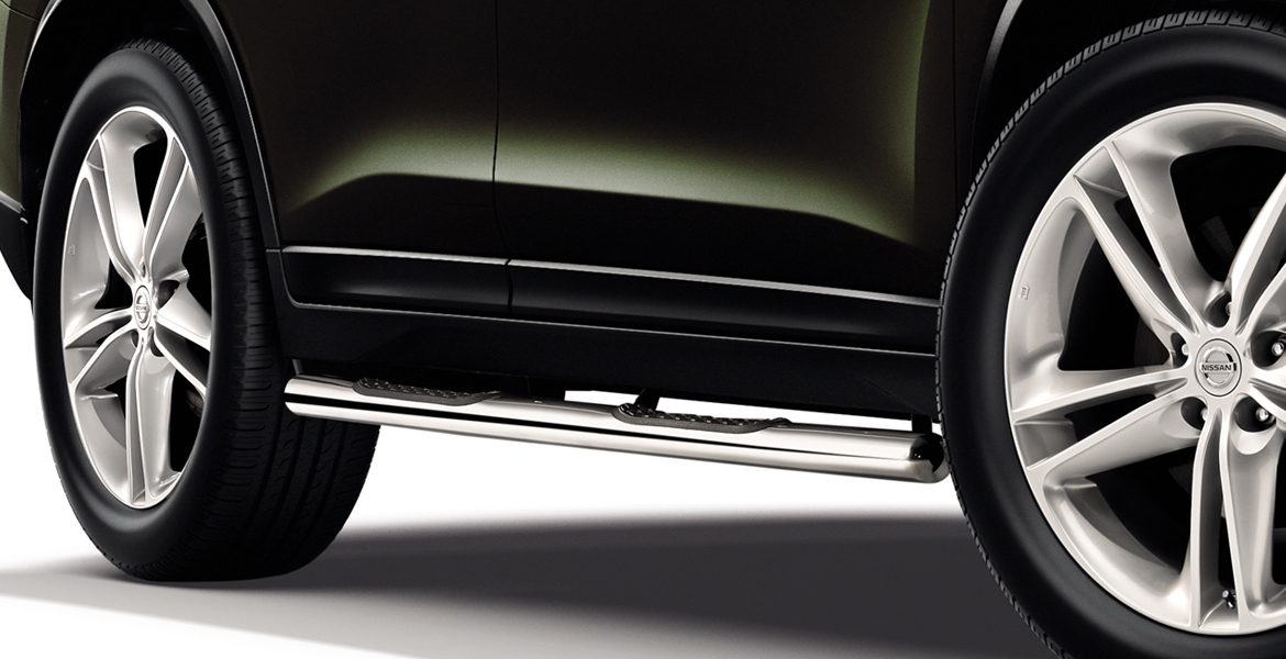 Nissan X-Trail - Side bars with steps