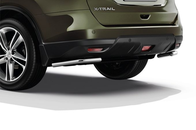 Nissan X-Trail - Exterior - Rear styling bars corner