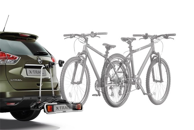Nissan X-Trail - Transportation - Bike carrier towbar mounted 7 pins - 2 bikes