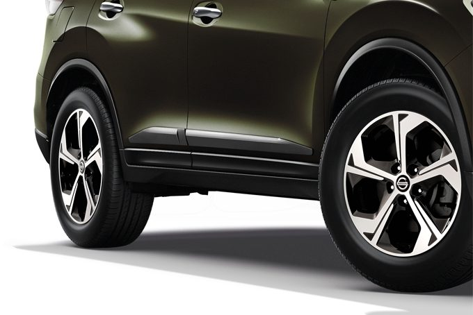 Nissan X-Trail - Exterior - Body side mouldings