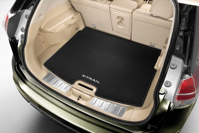 Nissan X-Trail - Interior - Trunk mat