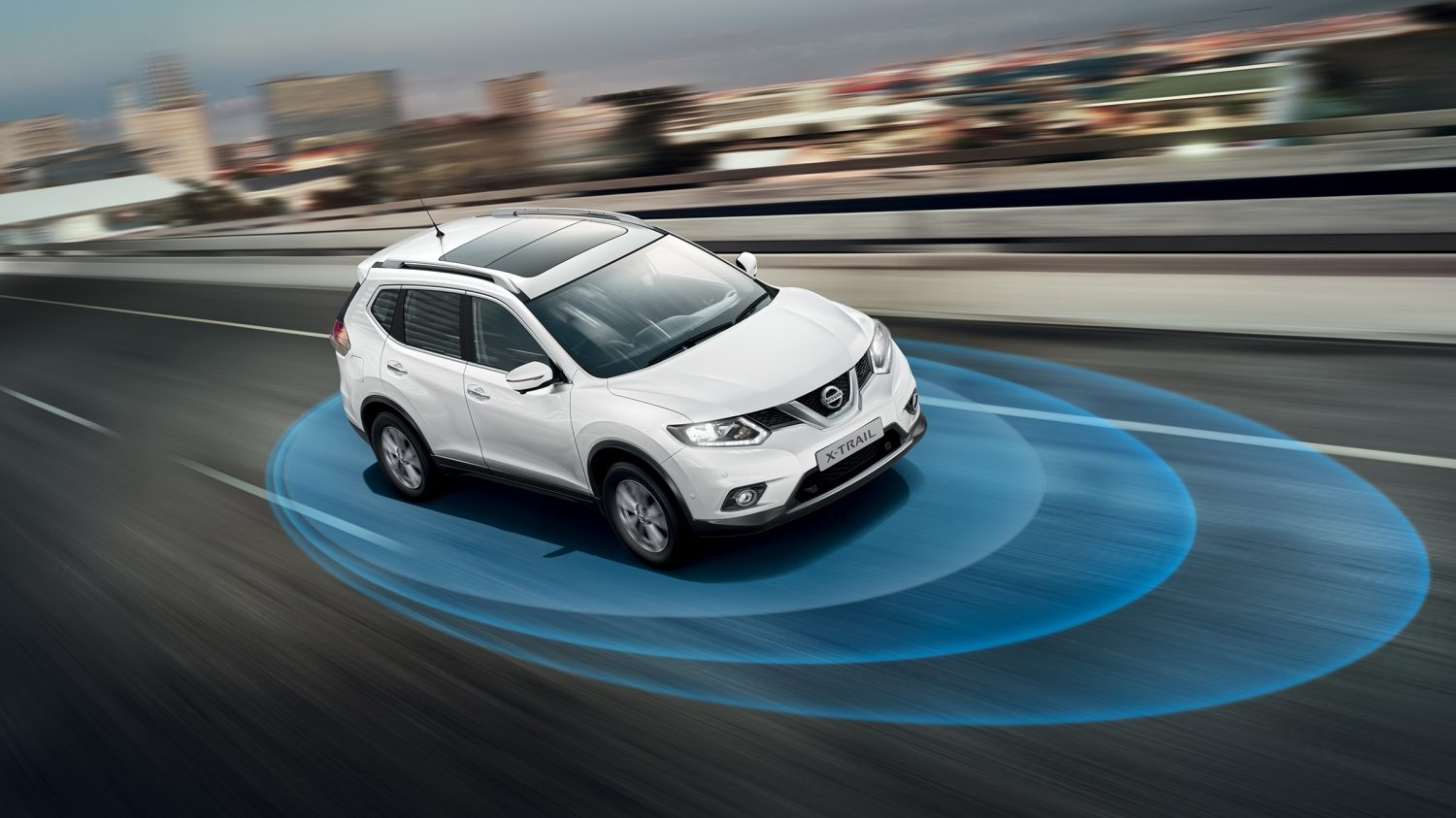 7 seater & 4x4 N-Vision - Safety Shield | Nissan X-Trail