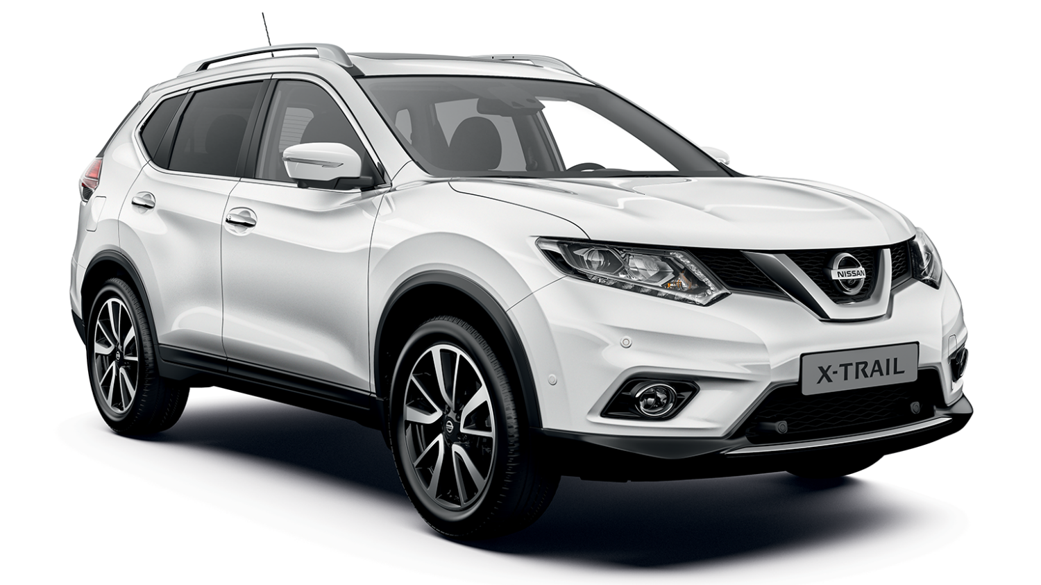 Nissan X-Trail Business+ - 3/4 front view