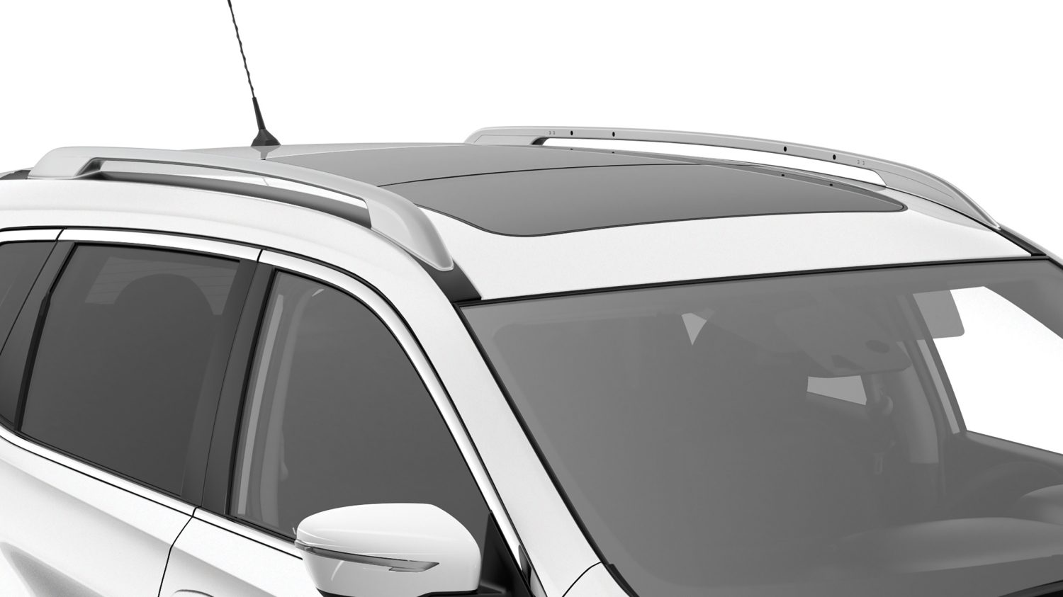 Panoramic glass roof - Nissan X-Trail