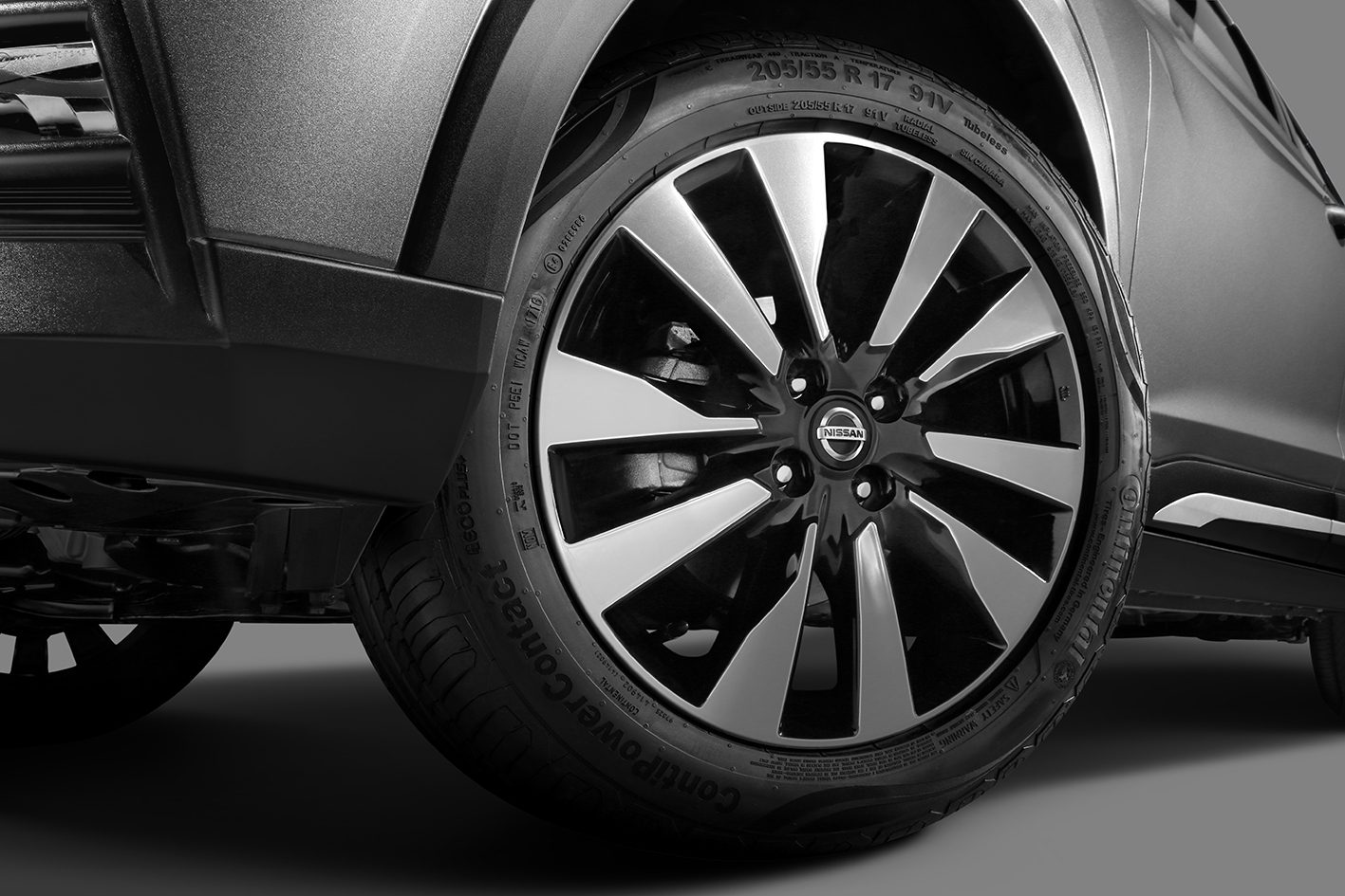 Nissan Kicks wheel detail