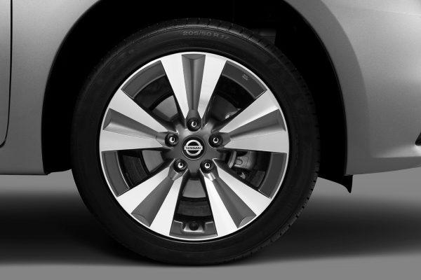 Llantas y rines del Nissan SENTRA