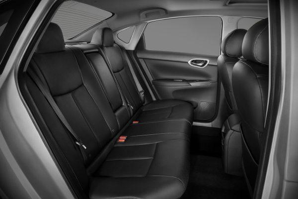 Interior del nuevo Nissan Sentra