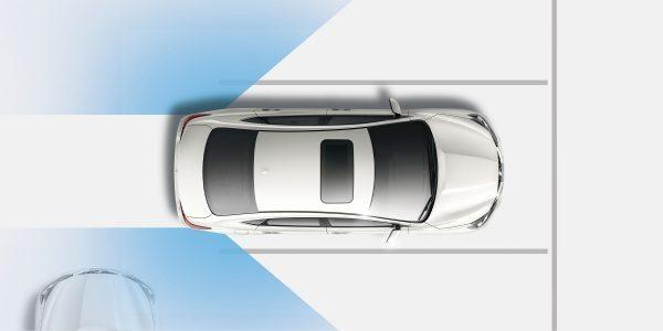 Alerta de Tráfico Cruzado (RCTA) del nuevo Nissan Sentra