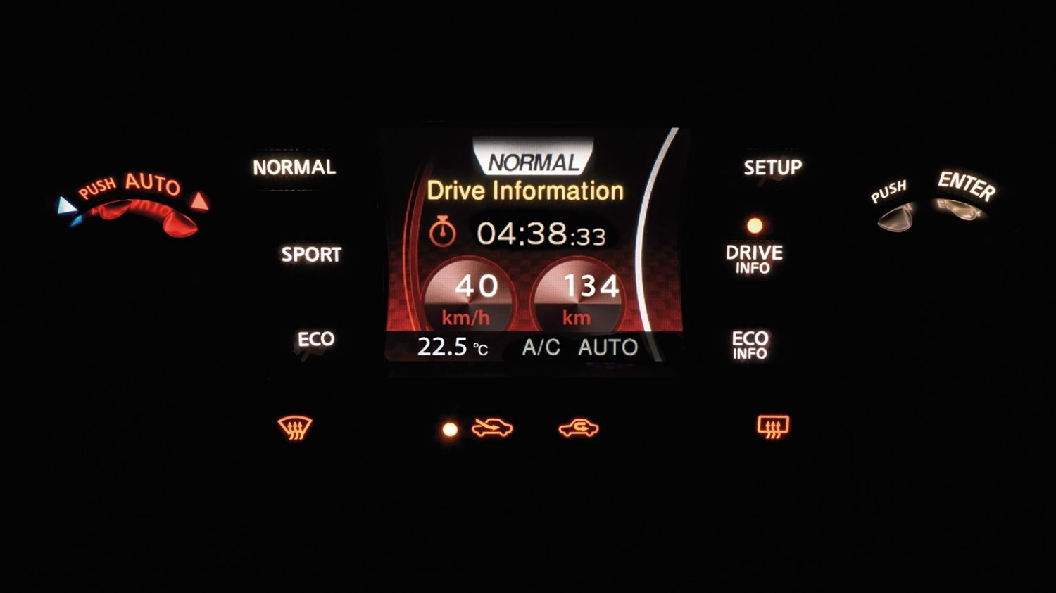 Drive information