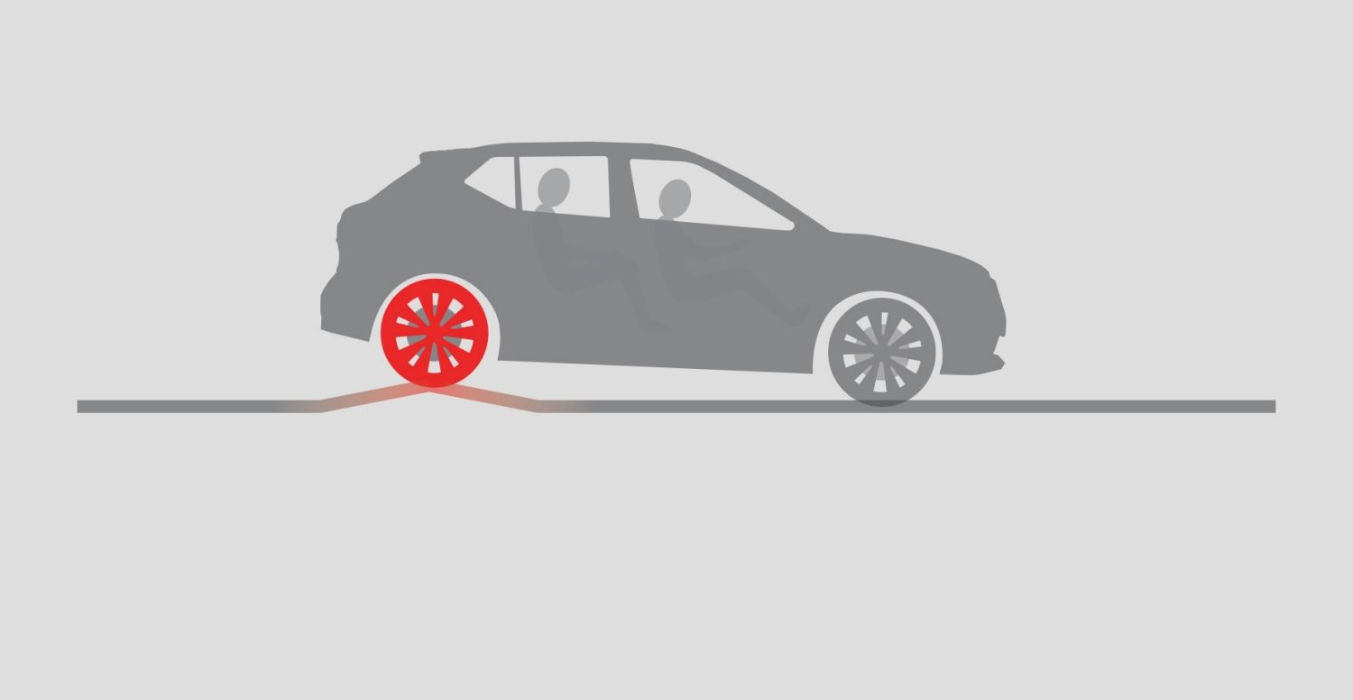 KICKS Intelligent Ride Control illustration