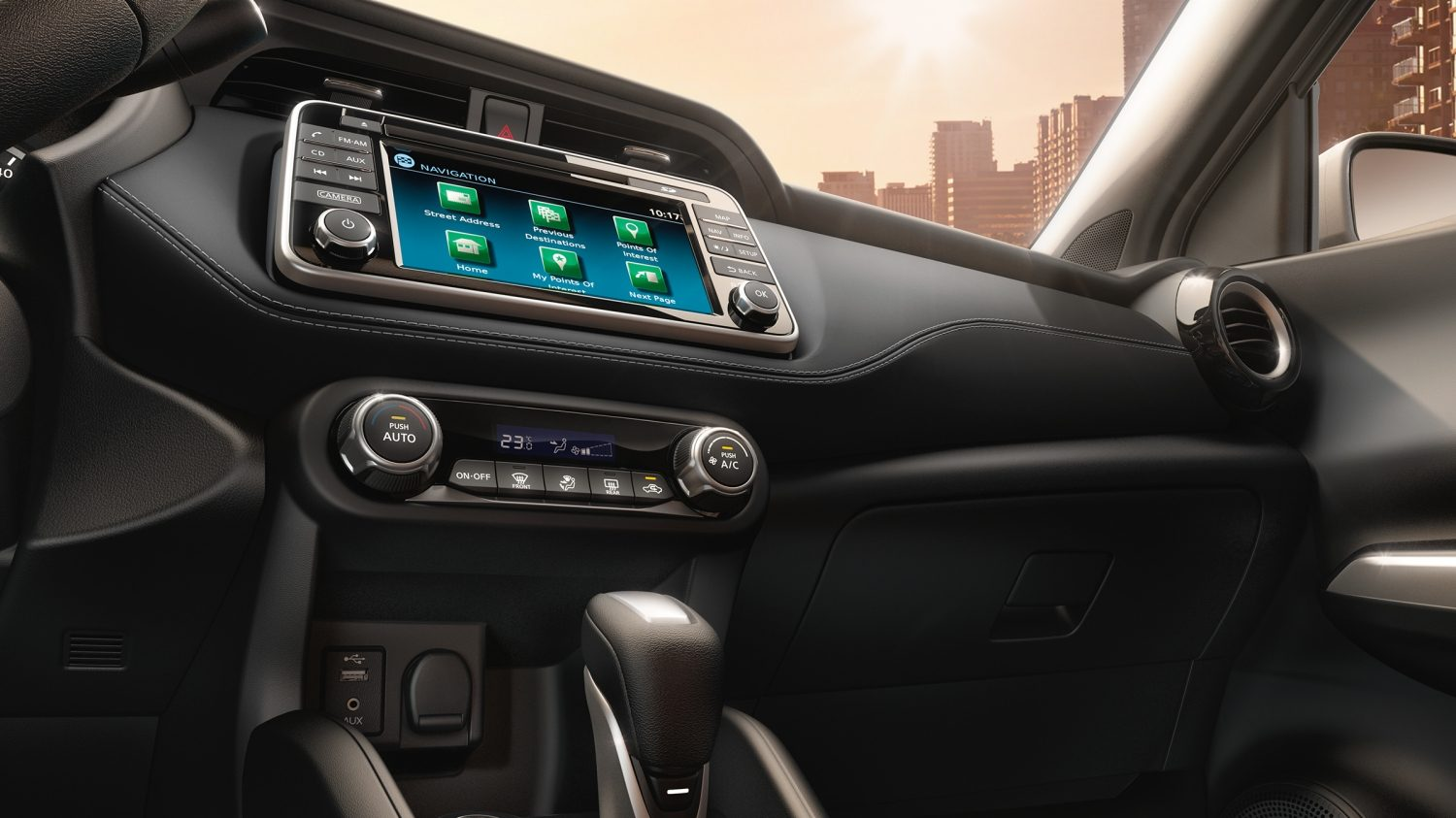 Nissan Kicks instrumentation panel detail
