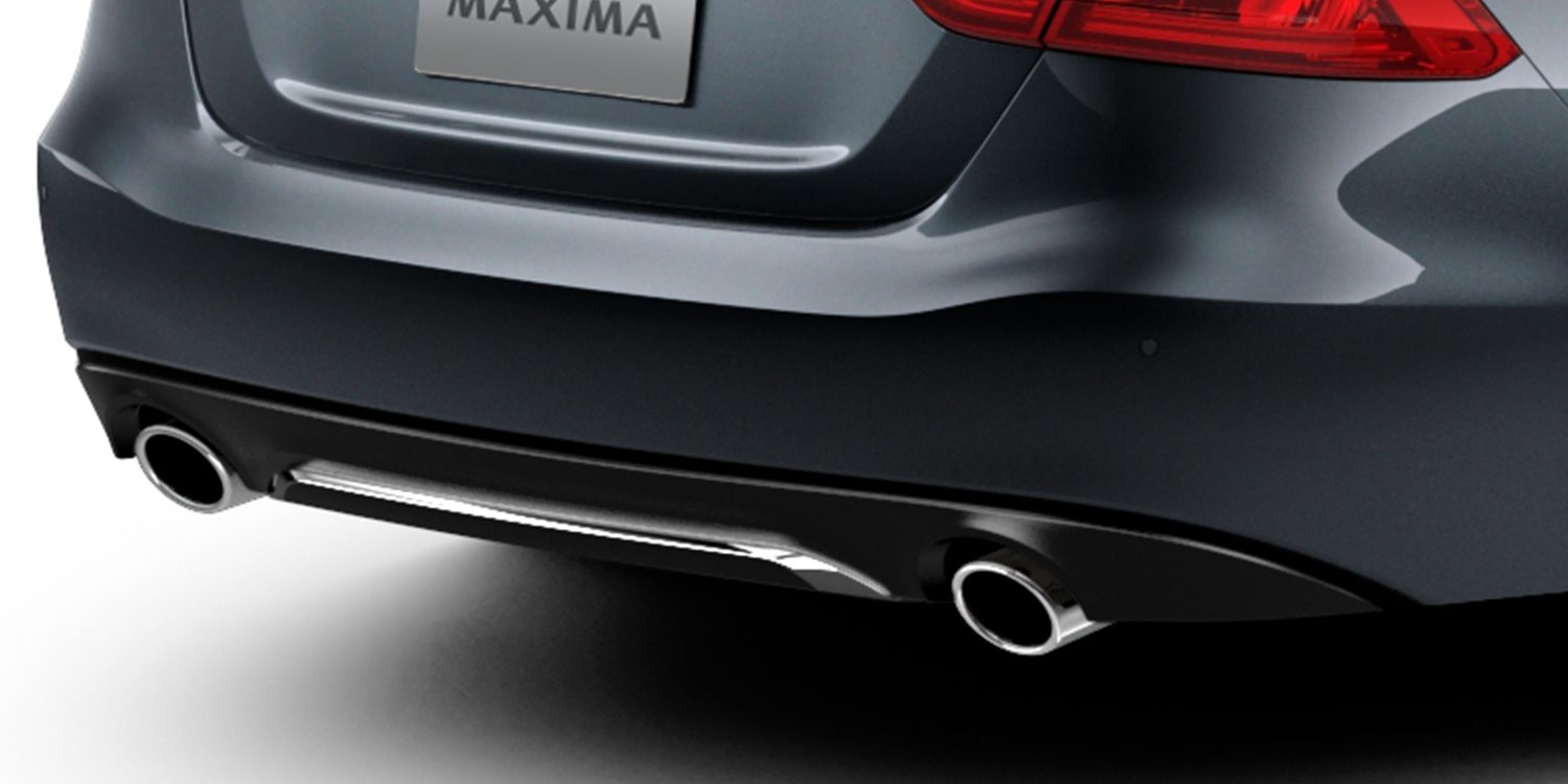 MAXIMA Midnight Edition - BLACK REAR DIFFUSER