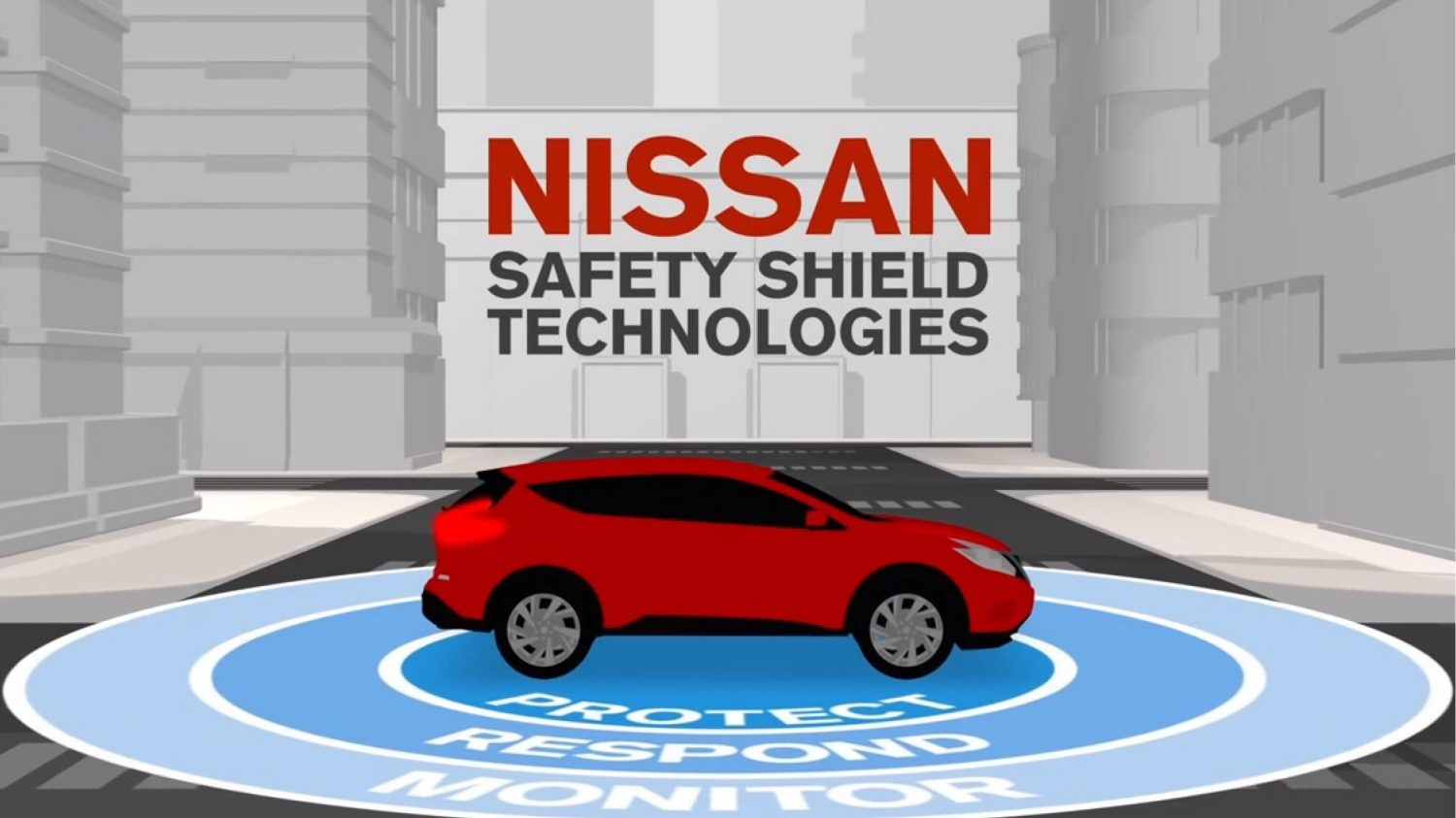 Safety Shield Technology Illustration