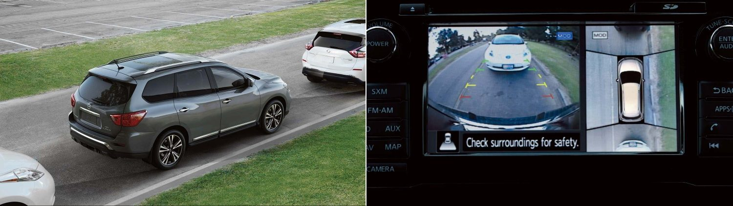 Nissan Pathfinder - Around View Monitor Demo